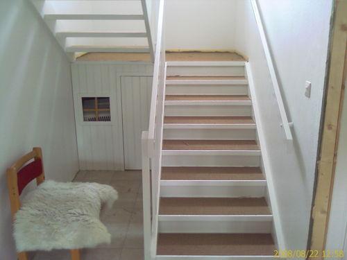 tape teppe i trapp
